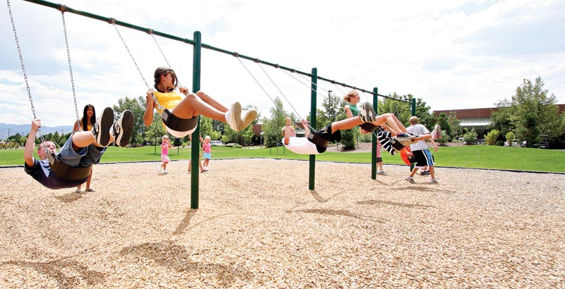 Cascade Recreation - Commercial Resilient Playground Surfacing vendor for Washington, Northern Idaho and Oregon!