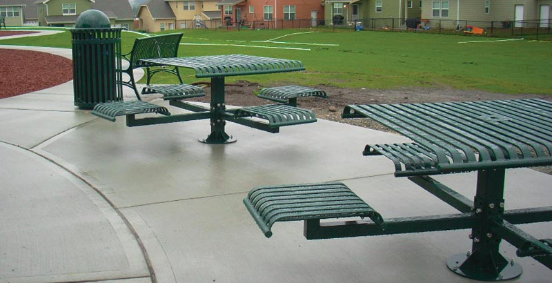 Cascade Recreation - Commercial Site Furnishings vendor for WA, OR and ID.