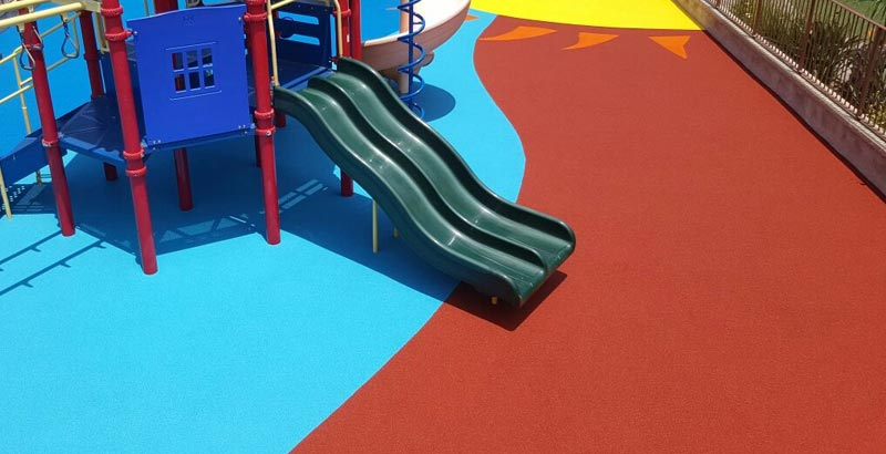 Safe rubber playground surfacing manufacturers and vendors serving Washington, Oregon and Northern Idaho.